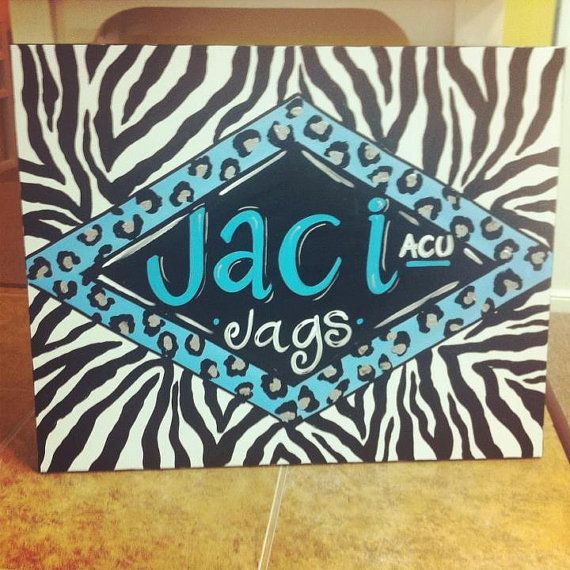 Hand Painted Words On Canvas