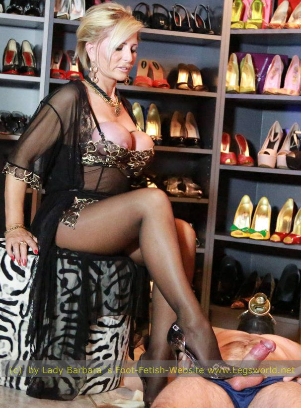 Mature european foot mistress