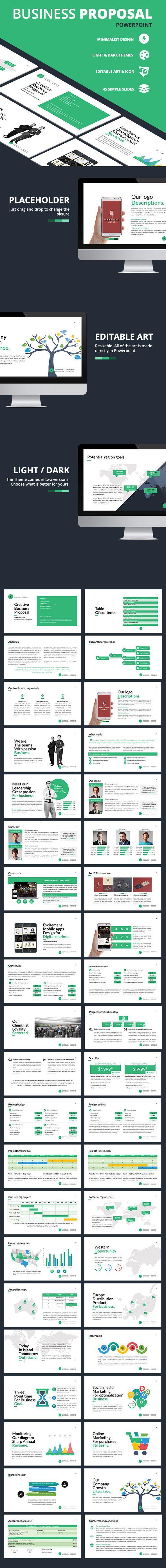 business proposal presentation template inspirationa new free plan p