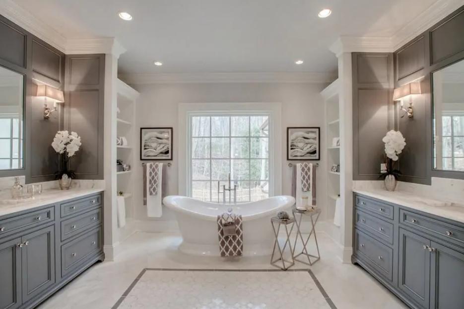 30 beautiful luxury master bathrooms decorating ideas