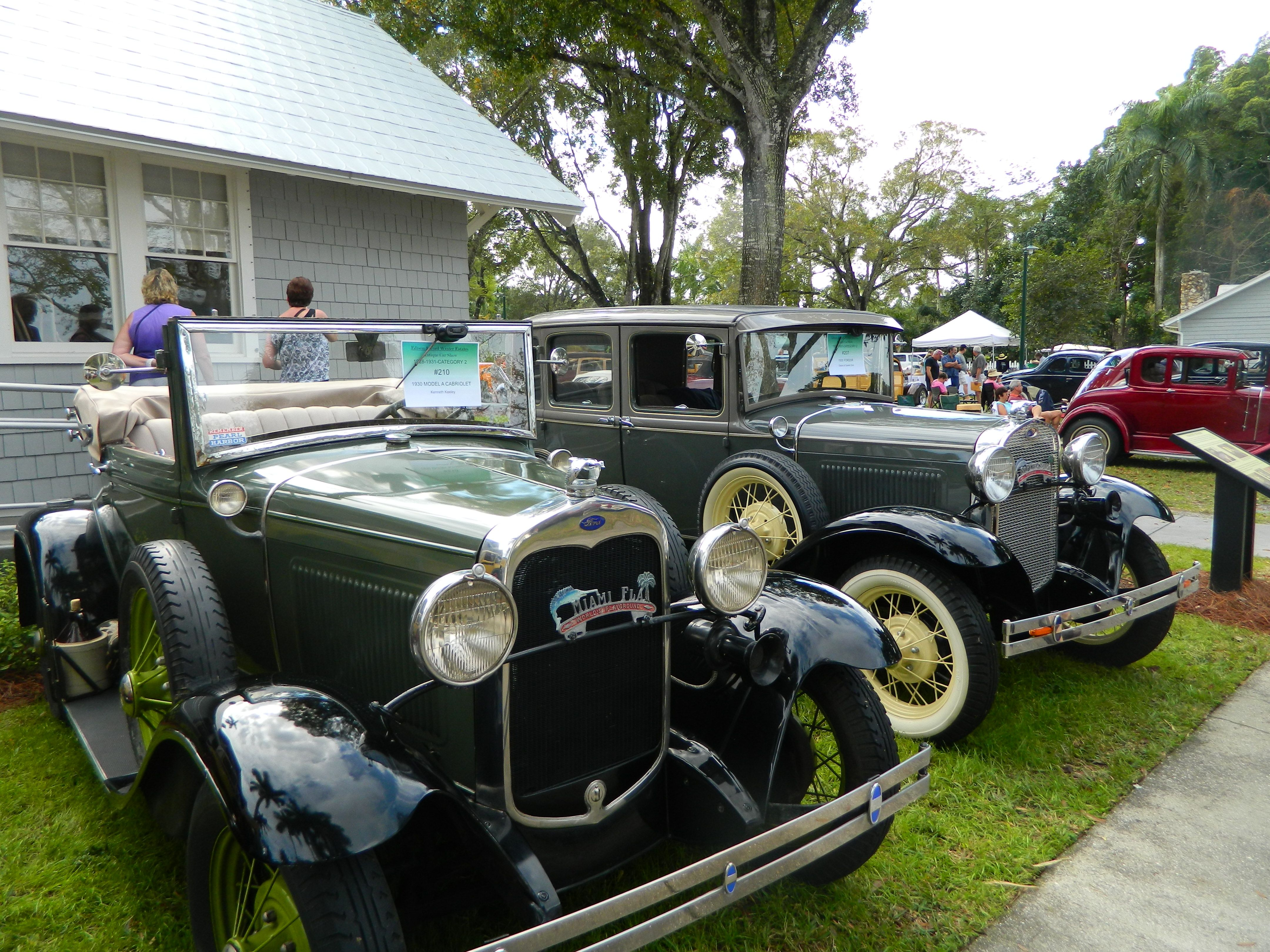 antique ford car show 2014 swfl fortmyers antiquecars henryford ford fort myers antique cars ford pinterest