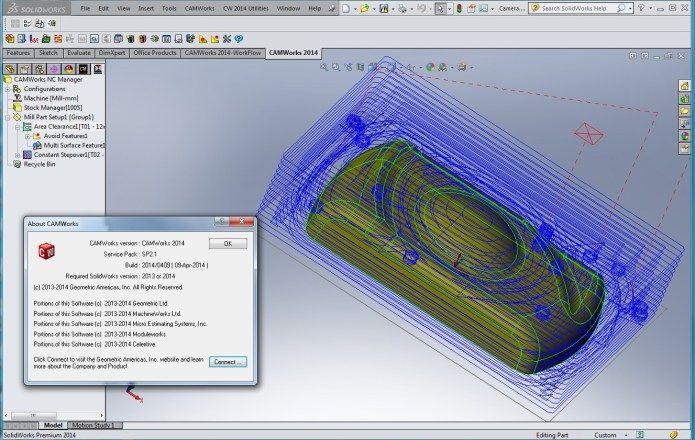 Lập trình gia công với phần mềm CAMWorks 2014 SP2 1 for SolidWorks