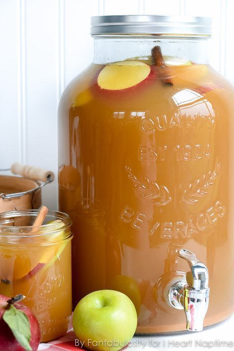 Thanksgiving Punch for a Crowd #beverages