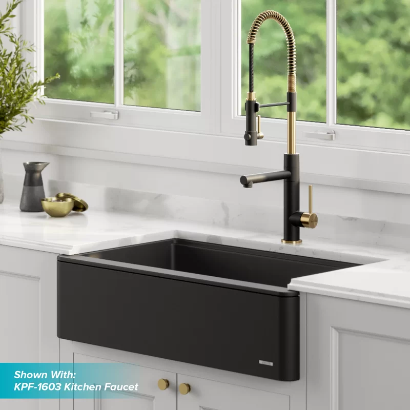 Bellucci 30 L X 21 W Farmhouse Kitchen Sink In 2020 Farmhouse Sink Kitchen Black Farmhouse Sink Composite Kitchen Sinks