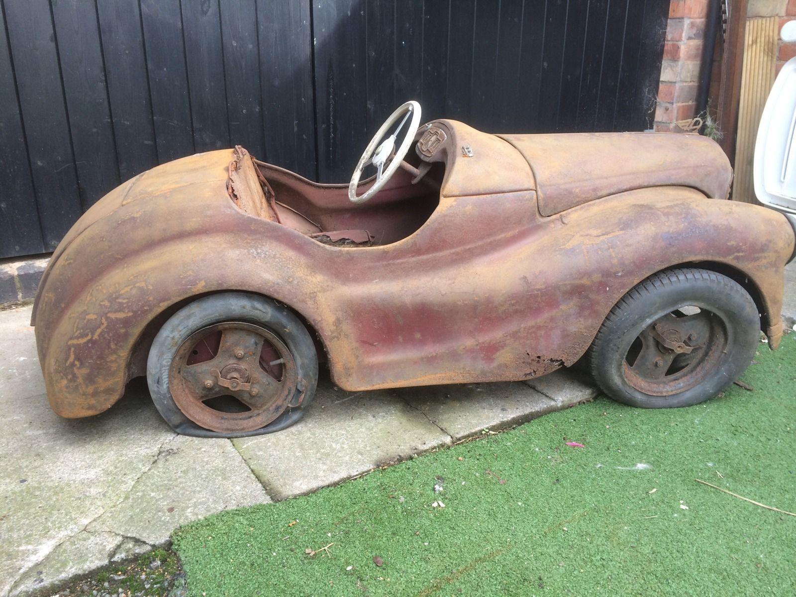 Austin J40 Classic Pedal Car Genuine Barn Find