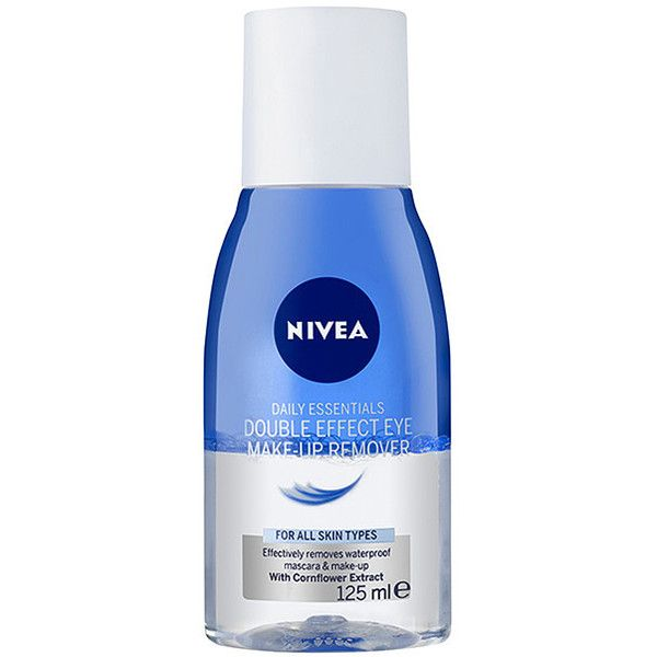 Nivea Daily Essentials Double Effect Eye Make Up Remover 125ml