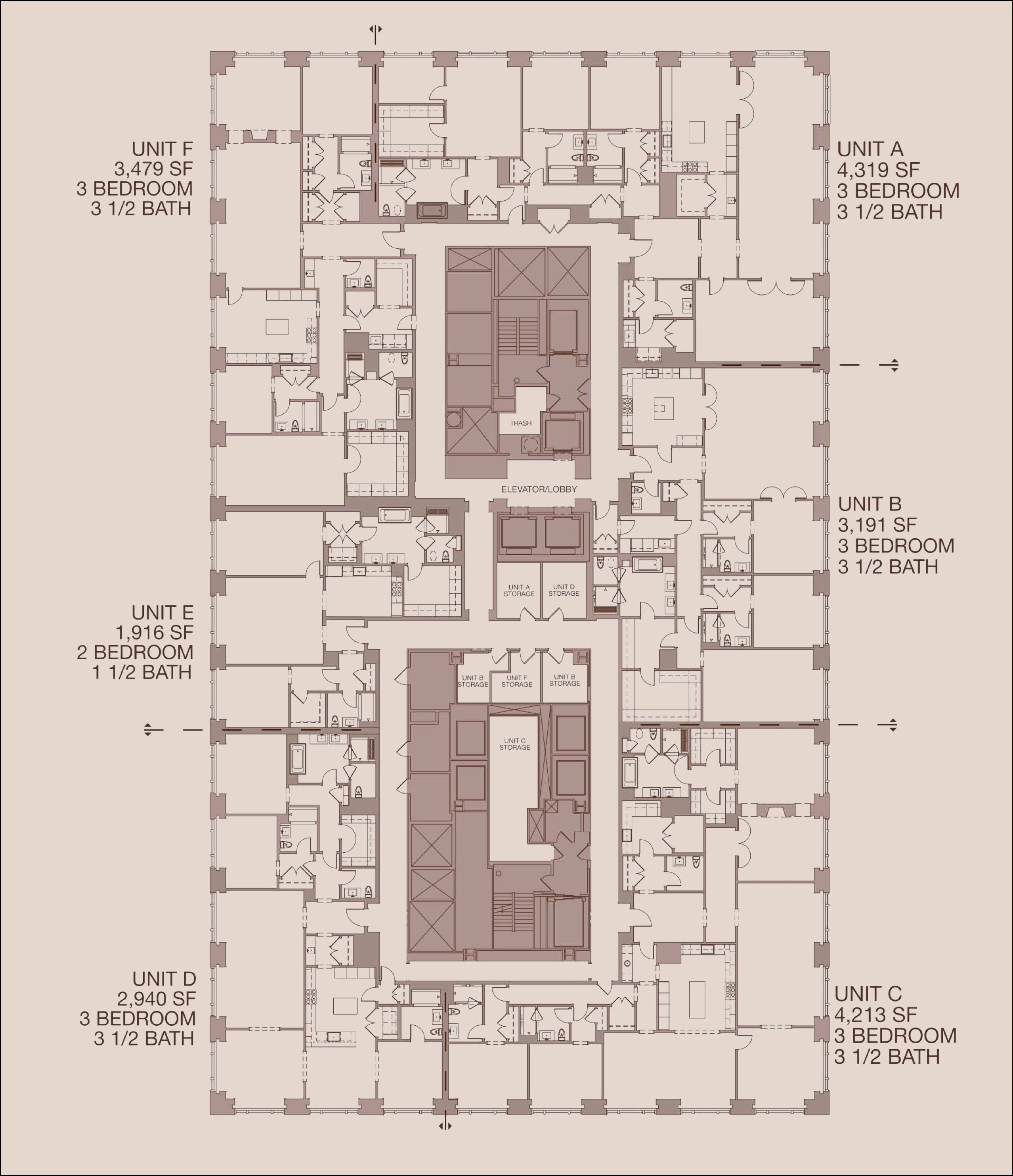 900 North Michigan Floor Plans - Chicago, USA. in 2019 ... on chicago theater seating layout, chicago brownstone floor plans, chicago loft floor plans, london row houses floor plans,