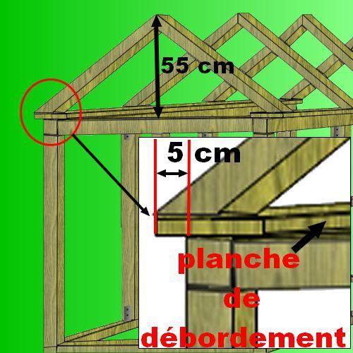 plan cabane bois de jardin+ abri jardin bois+cabanes à outils+cabane - plan maisonnette en bois