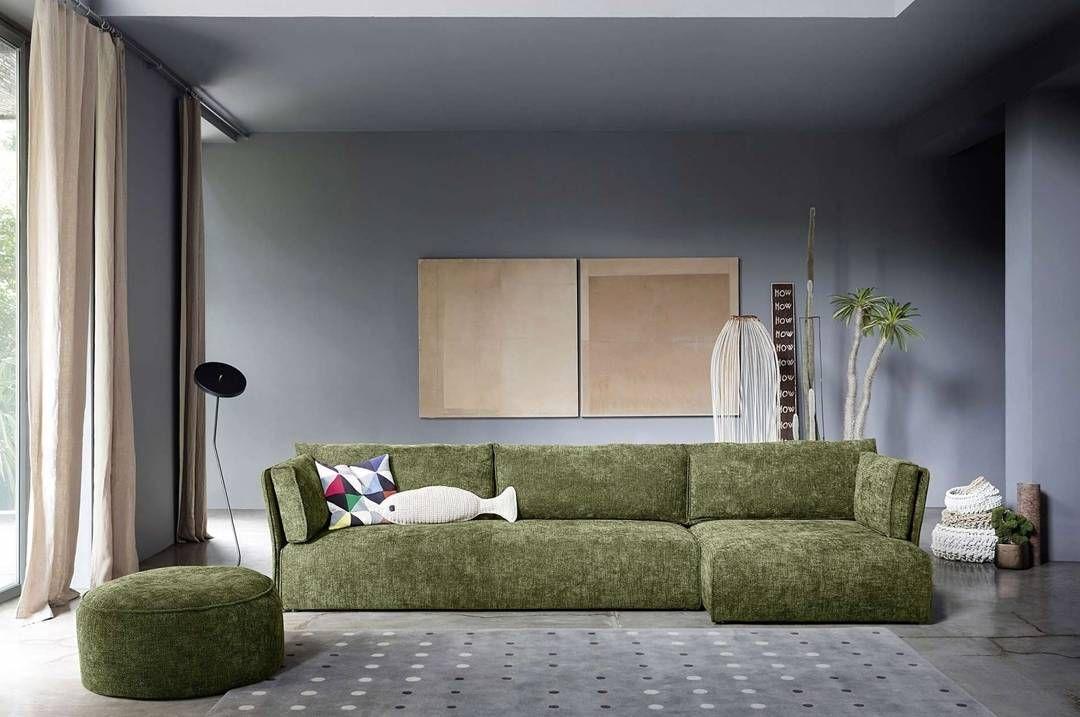 Das Moderne Sofa Smunk Von Novamobili Mit Leicht Angewinkelte