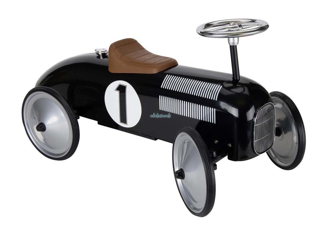Jezdzik Na Roczek Czarna Wyscigowka Retro Goki 1 3610733657 Oficjalne Archiwum Allegro Pull Along Toys Ride Ons Ride On Toys