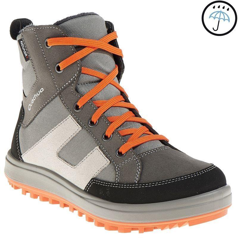35 Hiking Hiking Arpenaz 700 Warm Children S Snow Boots Grey Quechua Snow