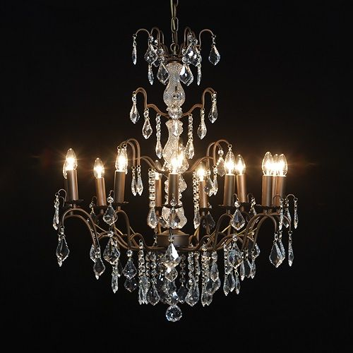 12 Arm Crystaline Chandelier 12 Arm Crystaline Chandelier Atc012 Home Furniture Products Classic F Antique Bronze Chandelier Chandelier Bronze Chandelier