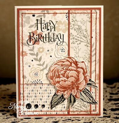 Creatively Artsy Card Gallery Beloved Bouquet Birthday Close To