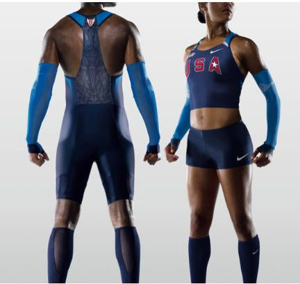3a82a7a4e925 2008 Olympic Uniforms  Designed for Performance