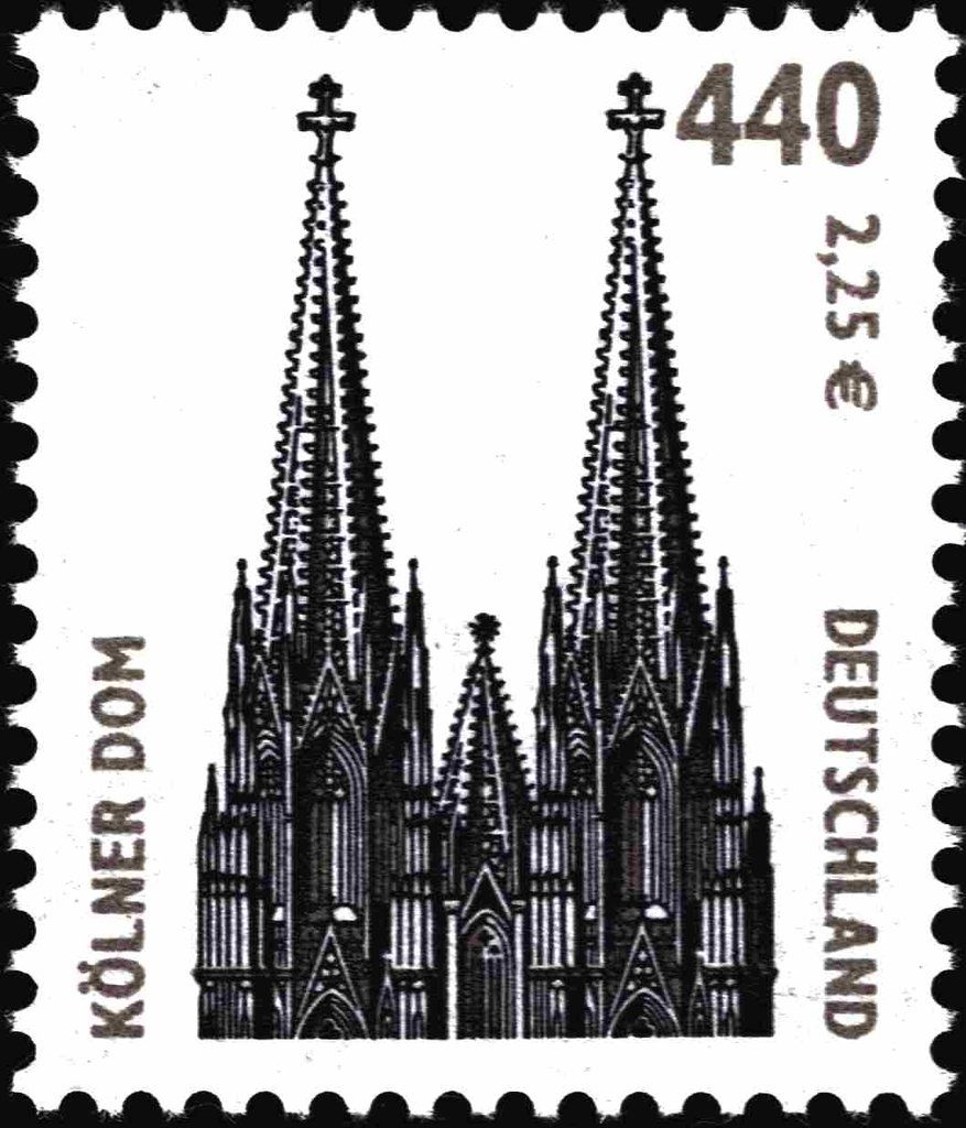 Pin Auf Stamps Of Unified Germany