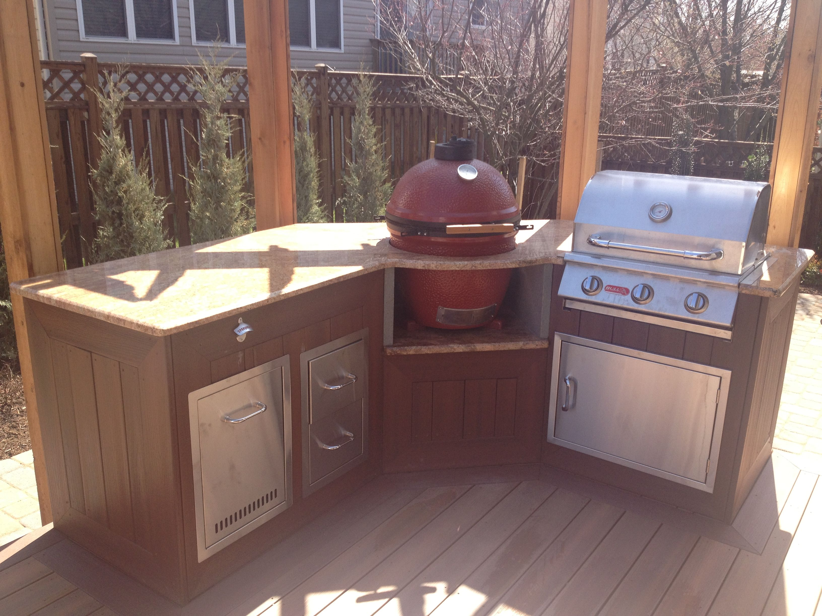 outdoor kitchen millersville md new deck with custom pergola www sharpercut com on outdoor kitchen on deck id=36482