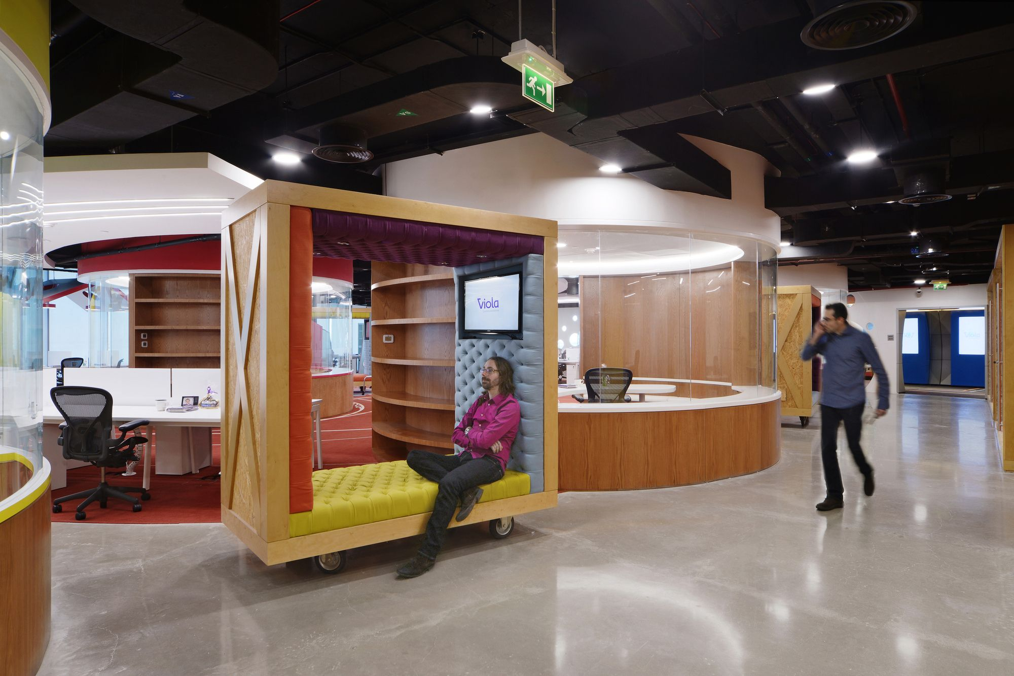 innovative office designs. Viola Communications Office / M+N Architecture Innovative Designs N