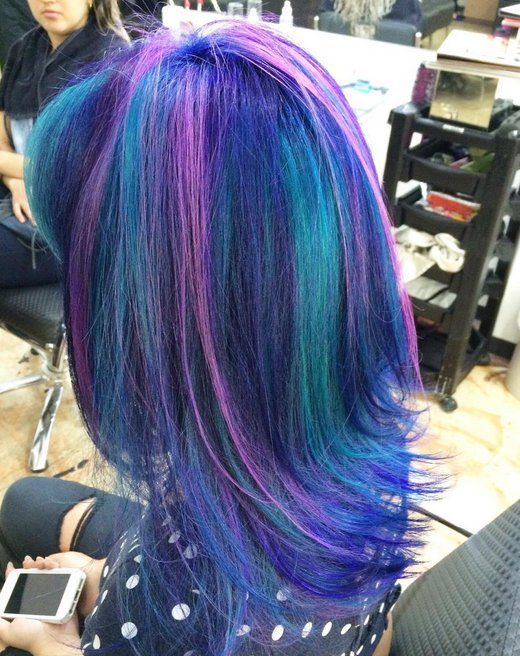 15 Galaxy Hair Ideas That Will Make You Starry Eyed Hair Colors