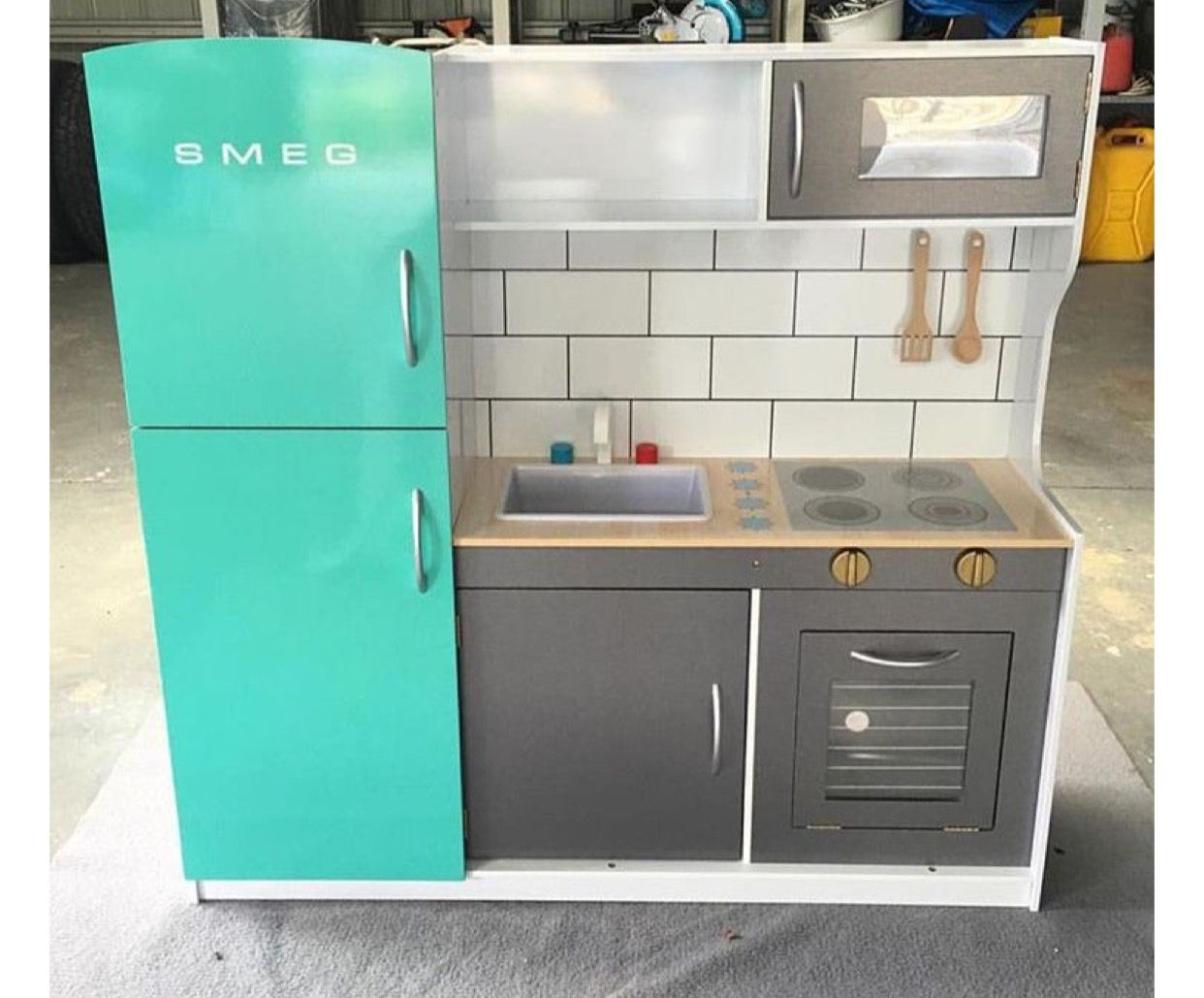 Magnificent Childs Play Kitchen Elaboration - Kitchen Cabinets ...
