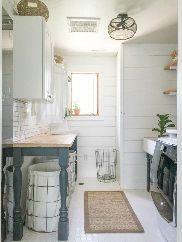 The Perfect Diy Laundry Folding Table Laundry Room Design