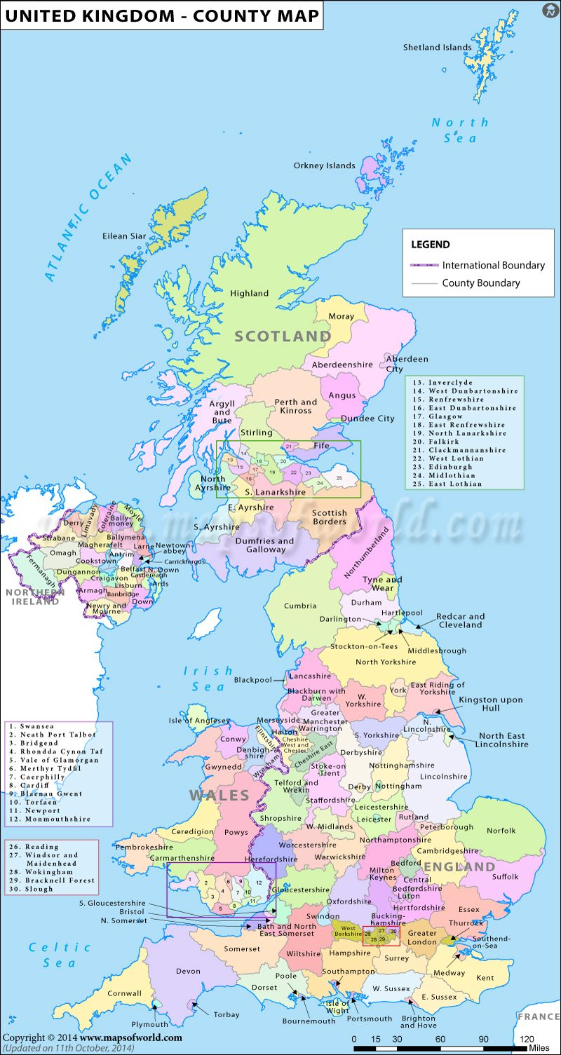 map of the counties in the united kingdom history places uk