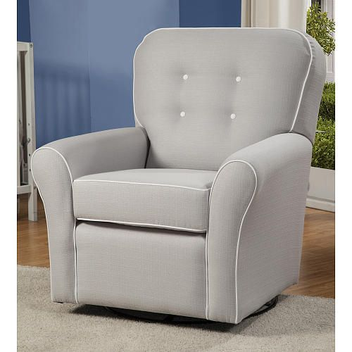Exceptional Little Castle Kacy Collection Morgan Elite Glider   Softly Silver   Little  Castle Furniture   Babies