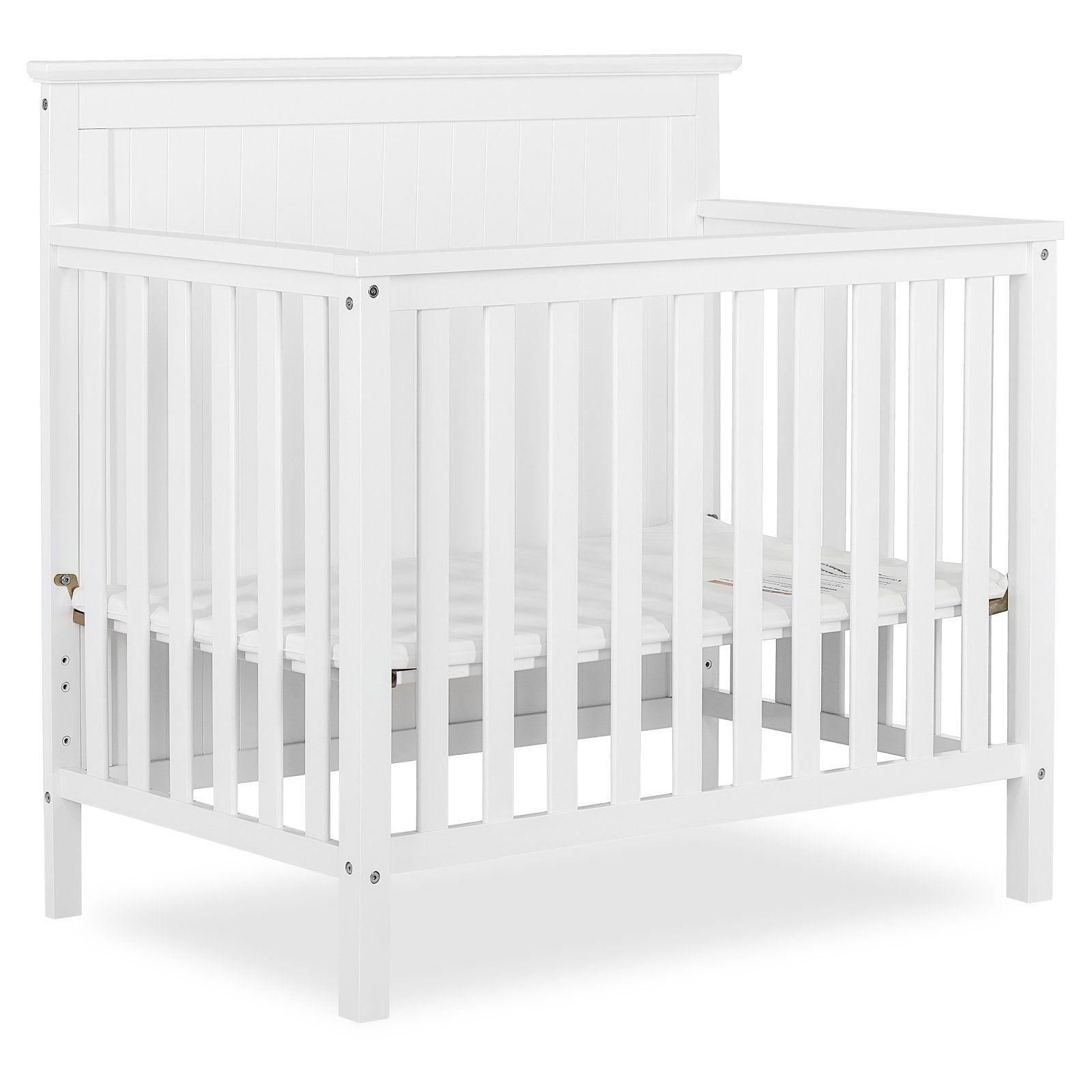 Dream On Me Ava 4 In 1 Convertible Mini Crib In 2020 Mini Crib Cribs Decor
