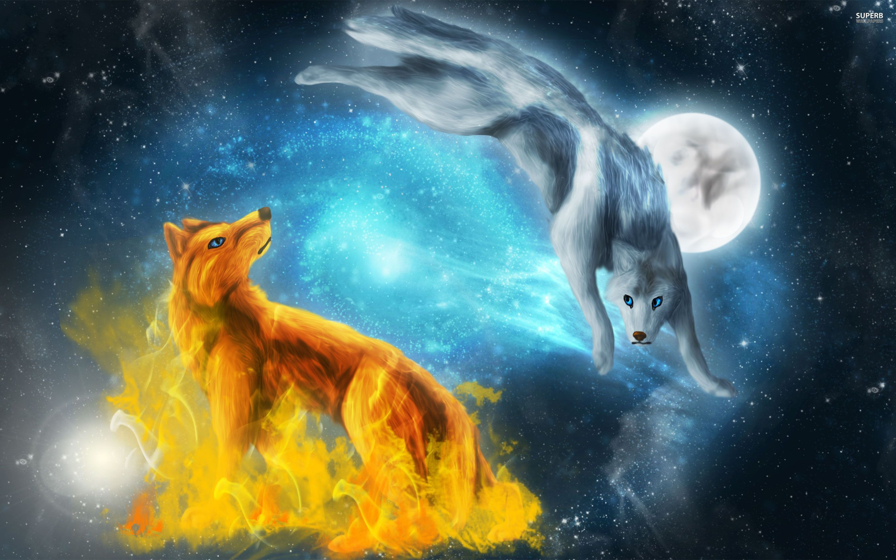 Fantasy Wolf Wallpapers Wallpaper Cave Wolf Wallpaper Ice Wolf Wallpaper Fantasy Wolf