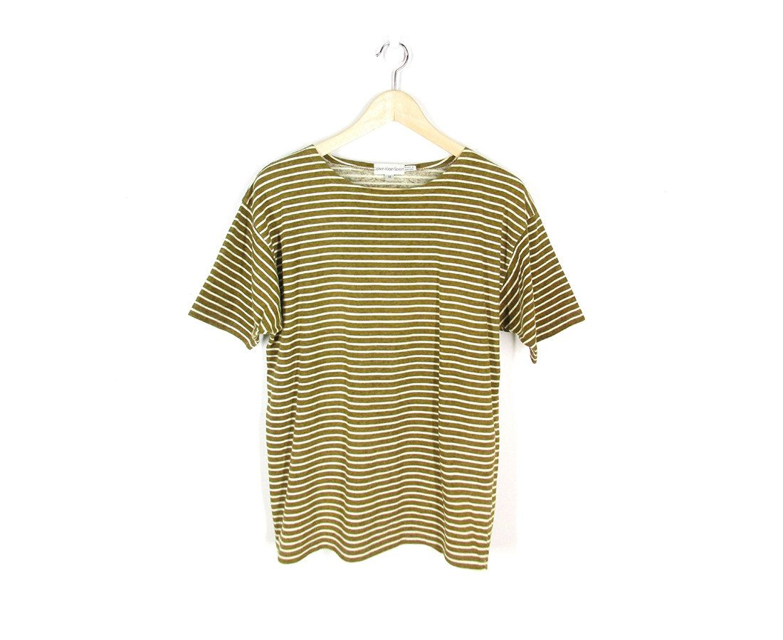 Retro Calvin Klein short sleeve tshirt, size M