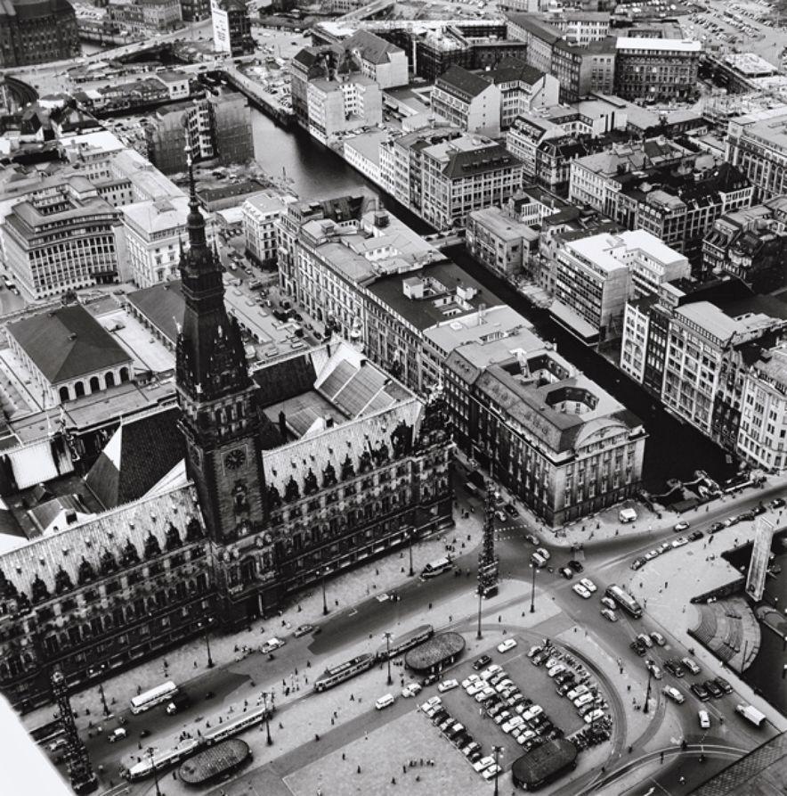 Luftbilder Hamburg von oben vor fünfzig Jahren