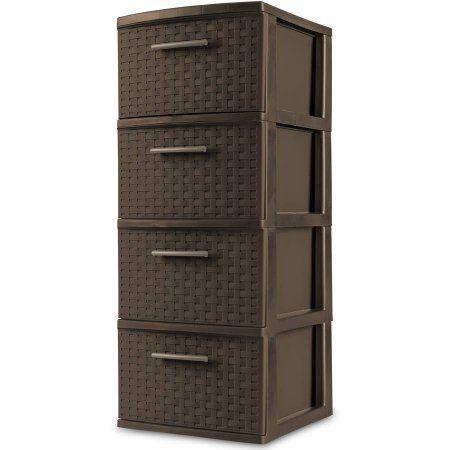 Home Sterilite Plastic Storage Drawers
