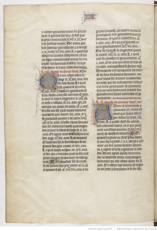 Titre : Flavius Josèphe, Les Antiquités judaïques Date d'édition : 1410-1420 Français 247