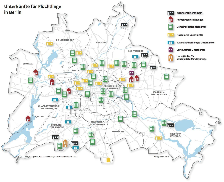 Flüchtlingsheime In Berlin