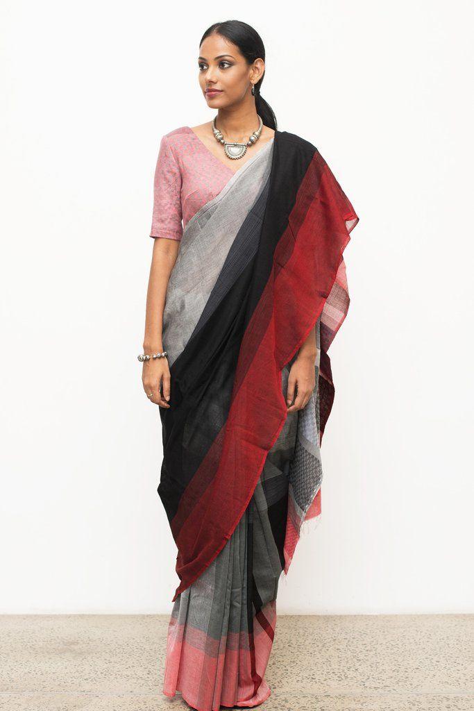Rathu Mayam Saree from FashionMarket.lk