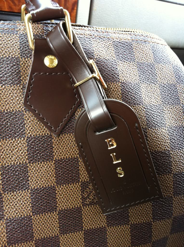 aba93aed3d93 Louis Vuitton Luggage Tag (size large