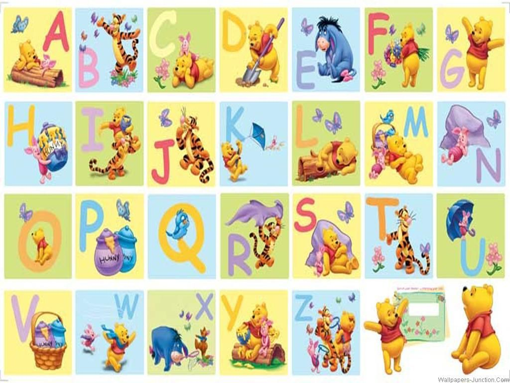 Alphabet Wallpapers Wallpaper Cave Alphabet Wallpaper Winnie The Pooh Pooh