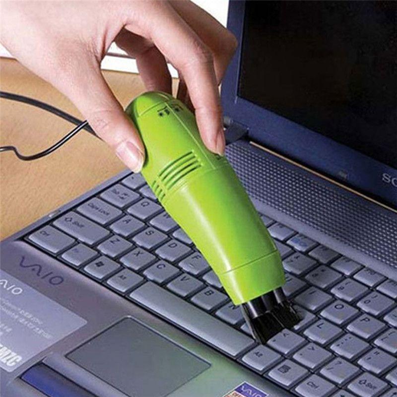 USB Computer Keyboard Vacuum Cleaner Keyboard Brush Keyboard Brush Mini