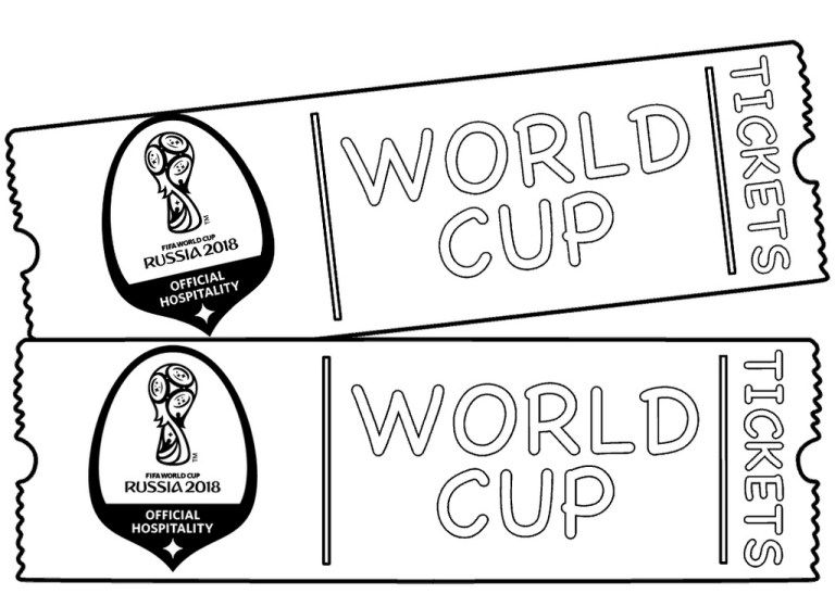 Best FIFA Coloring Pages For Sport Fans