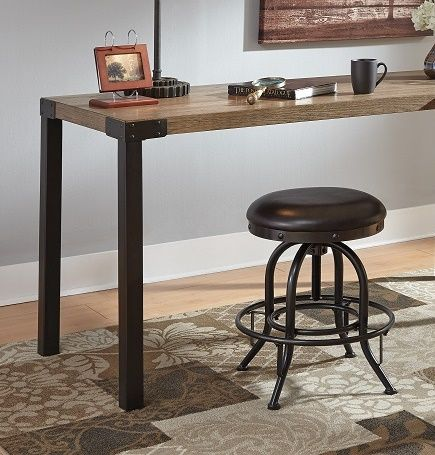 Perfect SKU Contemporary Steel And Padded Seat Desk Stool, 4 Legs, Foot Rest, Adjustable  Seat