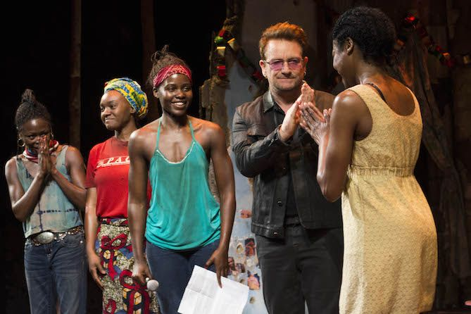 Every performance of Eclipsed will end with a moment in which some of the girls who are still missing are called out by name, and the performance will be dedicated to them.