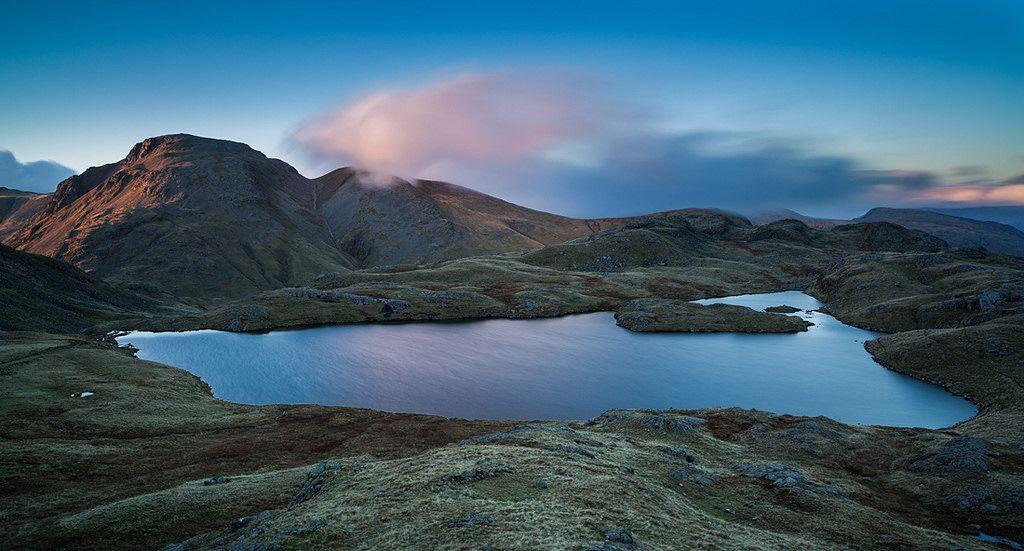 Sprinkling Tarn Great Gable Lake District Landscape Photos Landscape Photography