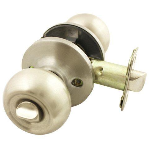 Cosmas 300 Series Satin Nickel Entry Door Handleset with 50 Series Lever