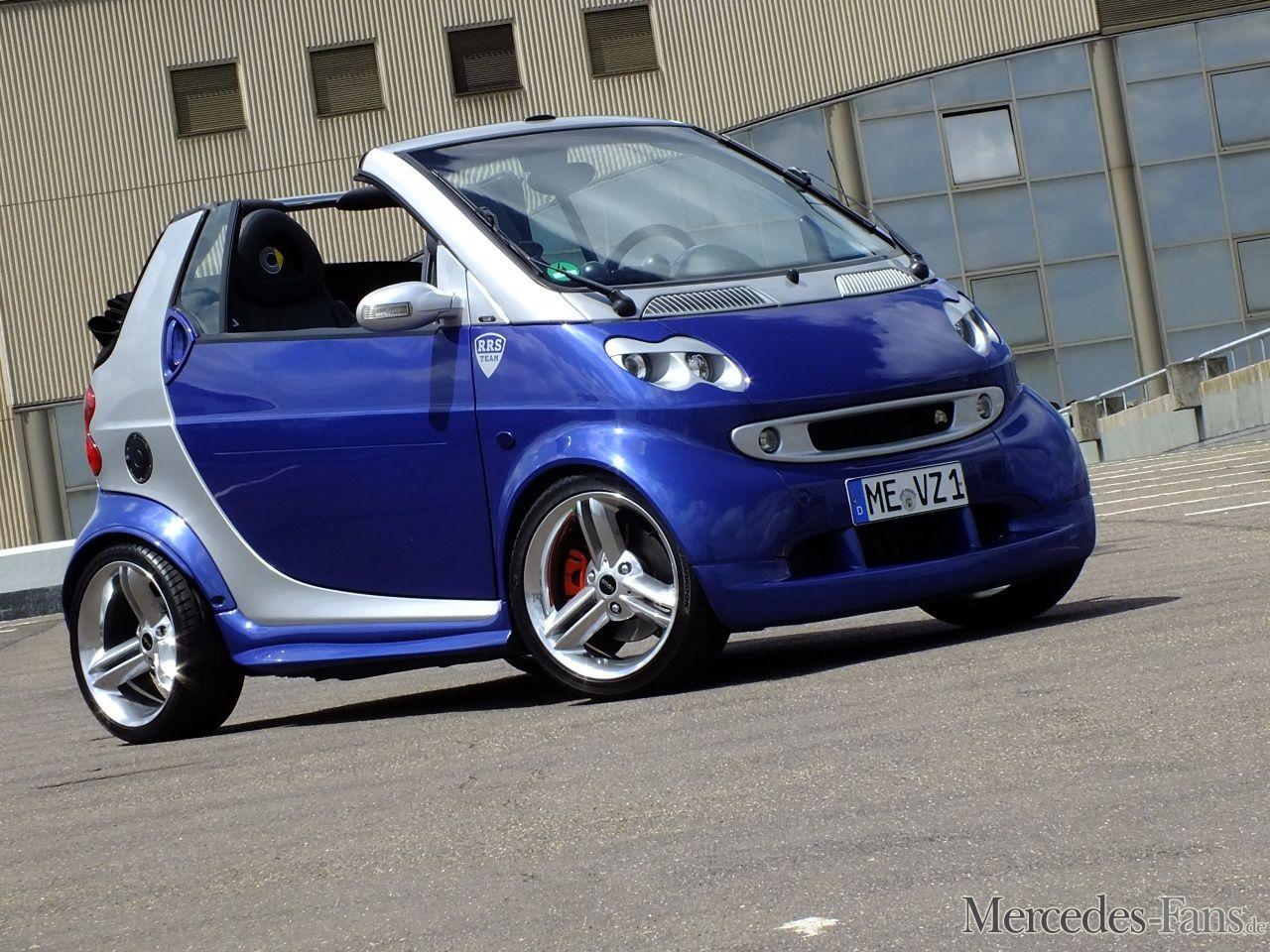 tuning auf die kleine art smart cabriolet 450 2004er fortwo im attraktiven sportdress. Black Bedroom Furniture Sets. Home Design Ideas