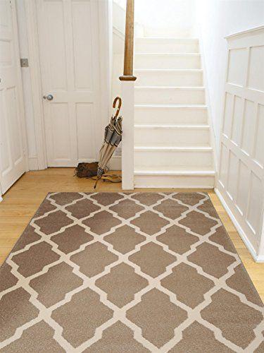 benuta Teppiche Teppich Lotus Beige 140x200 cm - schadstofffrei - wohnzimmer orange beige