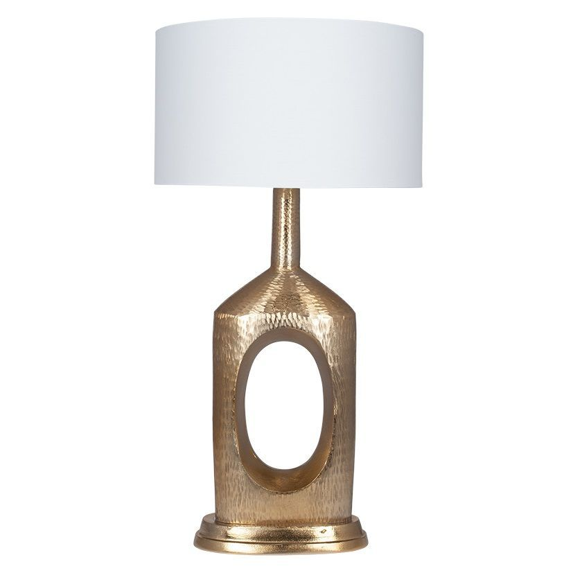 Hammered Gold Large Table Lamp With White Shade Mp30 591 Bow Millmax Interiors Uk Lighting Table Lamps Living Room Lamps Bedroom Lamps Decorative Lamps Stylish Large Table Lamps Table Lamp Lighting Lamp