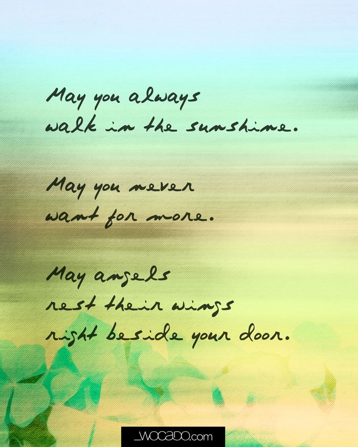 May You Always Words Can Do Printable Inspirational Quotes Walking Quotes Inspirational Quotes