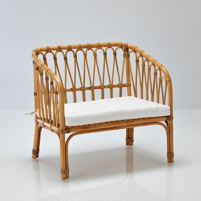 banquette enfant vintage en rotin malu la redoute. Black Bedroom Furniture Sets. Home Design Ideas