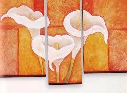 Dibujos De Calas Para Imprimir Buscar Con Google Pintura Acrílica Sobre Lienzo Cuadros Decorativos Cuadros Pintura