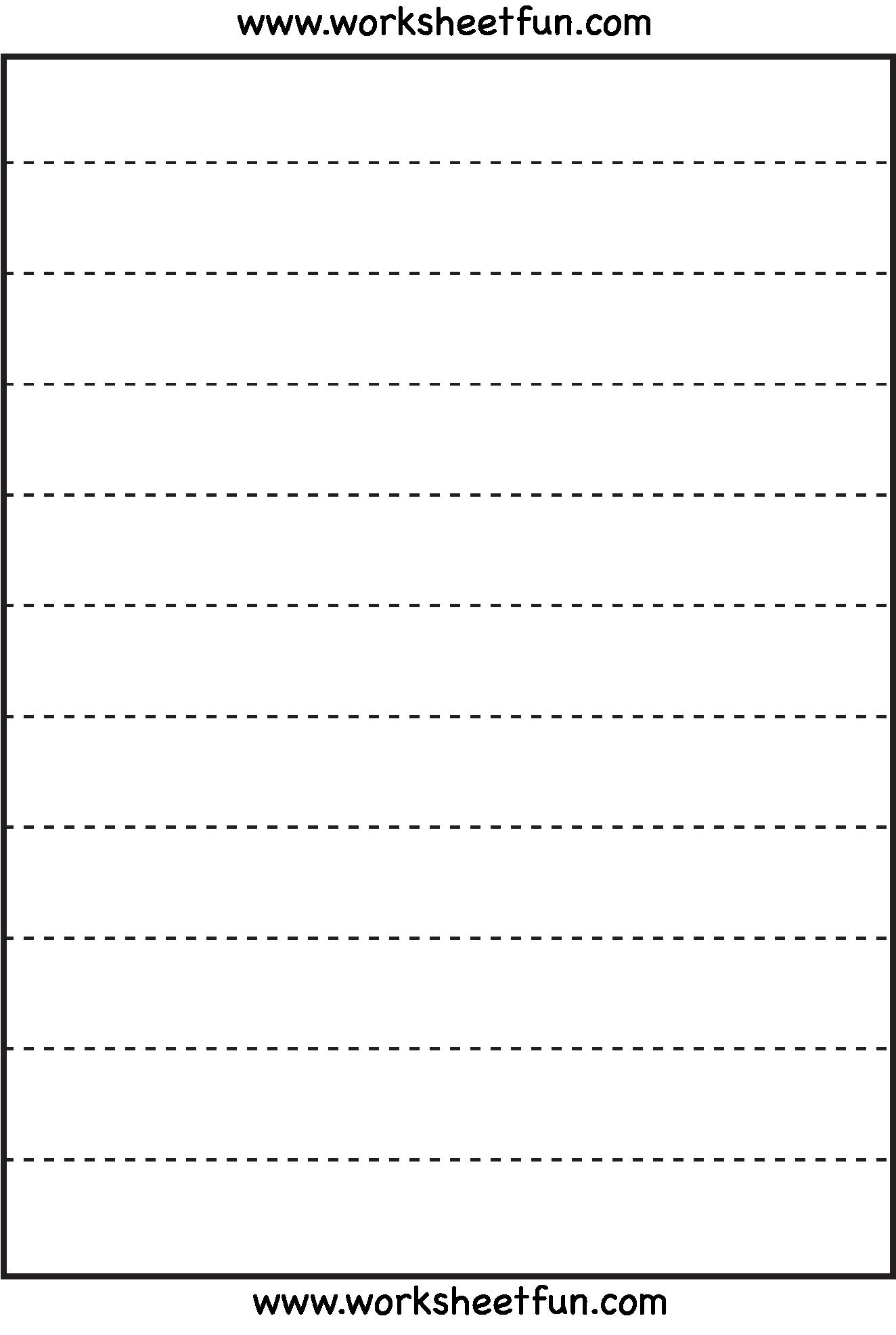 Straight Line Tracing