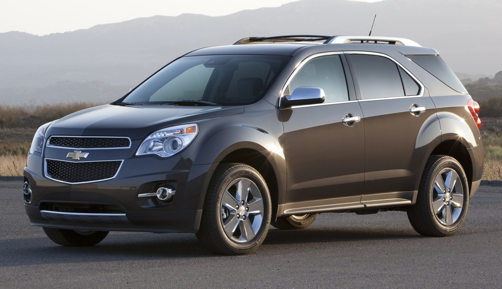 The 2015 Chevrolet Equinox Awd Lt A New Crossover Utility Vehicle
